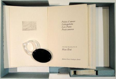 Livre Illustré Erni - POÉSIES D'AMOUR