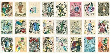 Livre Illustré Chagall -
