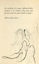 Livre Illustré Laurencin - Poèmes de Sapho, illustrés de 23 eaux-fortes par Marie Laurencin