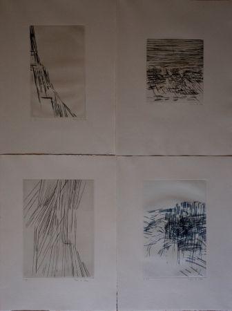 Livre Illustré Vieira Da Silva - Poésies