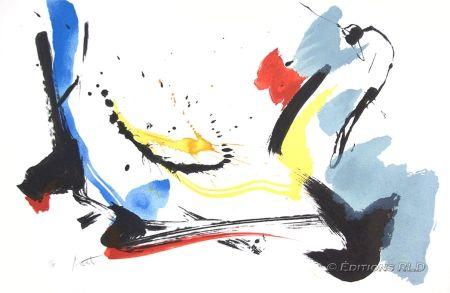 Lithographie Miotte - Poétique