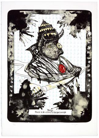 Lithographie Aritza - Pocgia