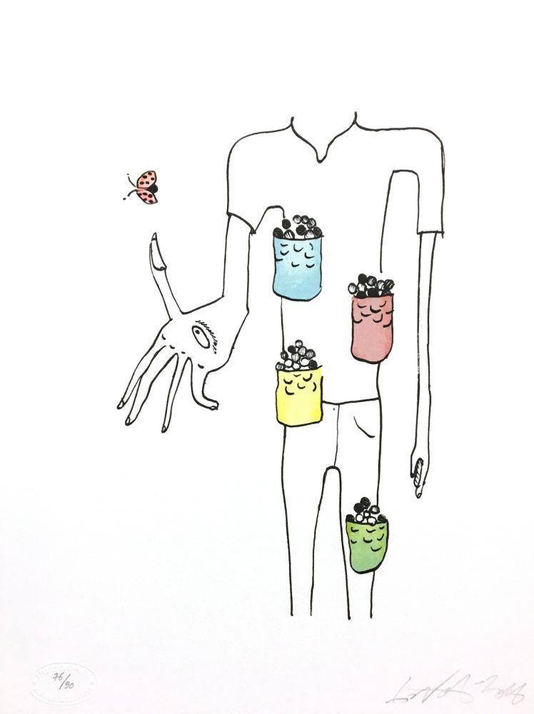 Lithographie Nørgard - Poche à bonbon