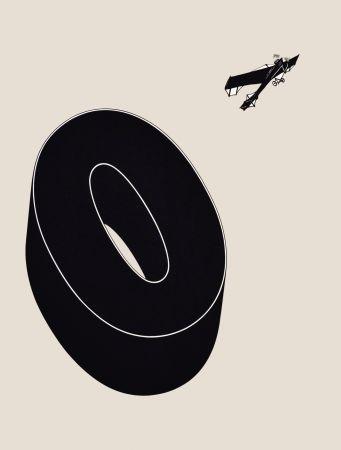 Lithographie Brossa - Poema visual 20