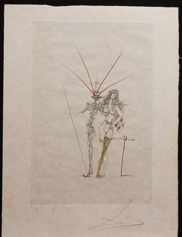 Gravure Dali - Poems Secrets Frontispiece