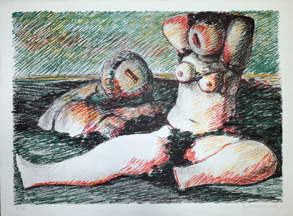 Lithographie Fiume - Poesia d'amore