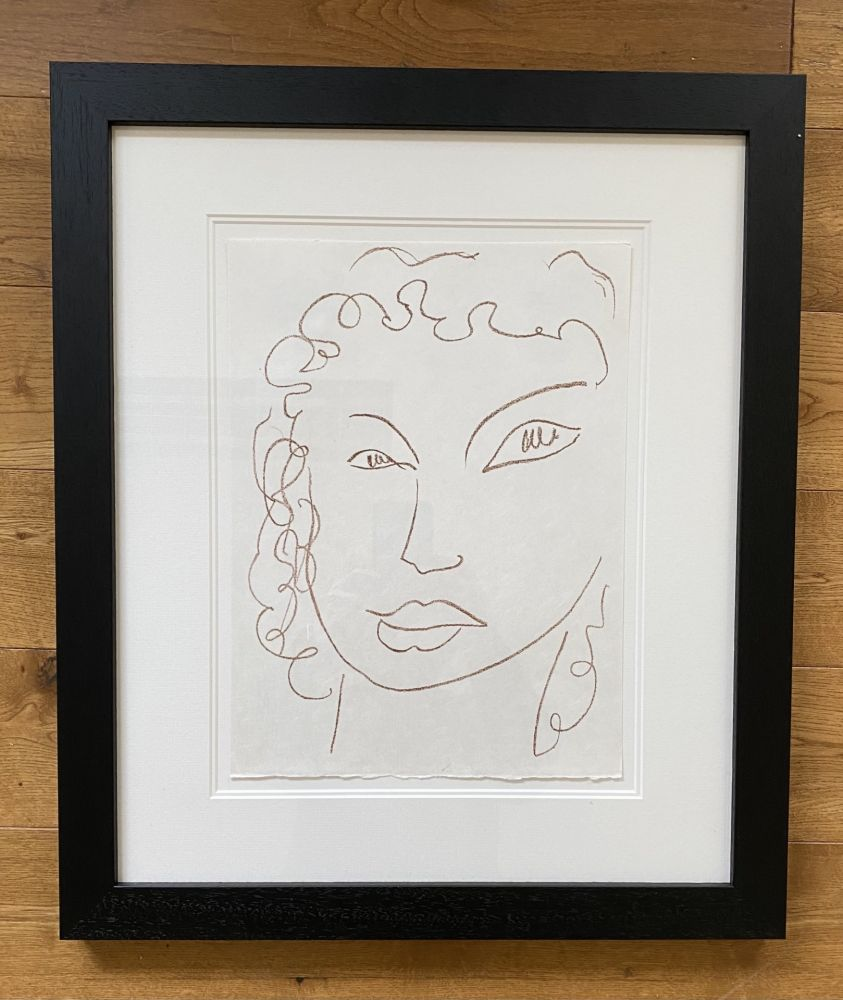 Lithographie Matisse - Poesies Antillaises - Number J.1