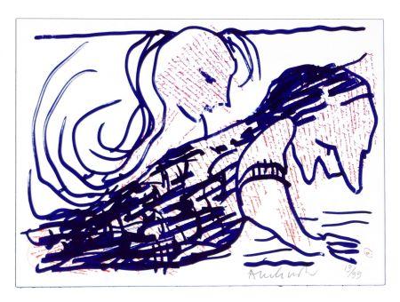 Lithographie Alechinsky - Pointes et Feutres (5)