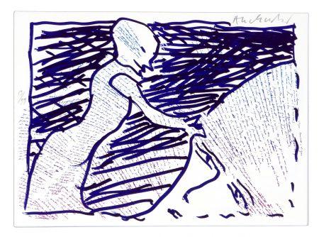 Lithographie Alechinsky - Pointes et Feutres (6)