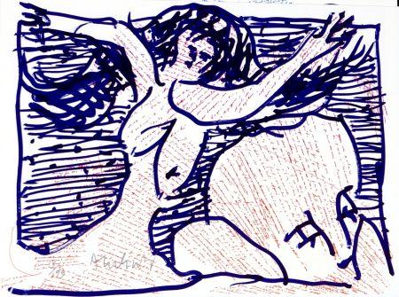 Lithographie Alechinsky - Pointes et Feutres (9)