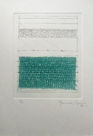 Gravure Hernandez Pijuan - Polychrome 1