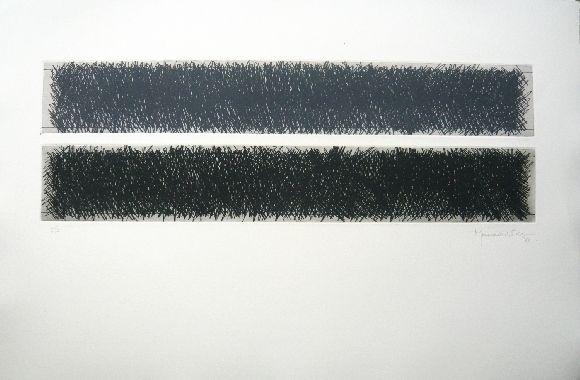 Gravure Hernandez Pijuan - Polychrome 10