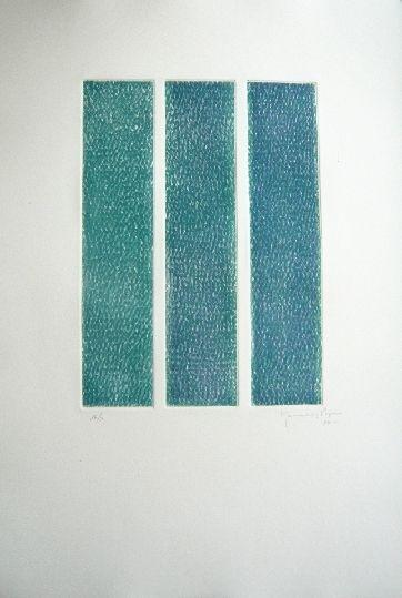 Gravure Hernandez Pijuan - Polychrome 13