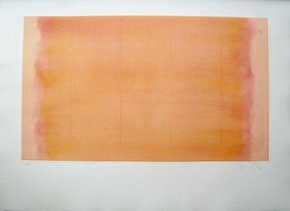 Gravure Hernandez Pijuan - Polychrome 16