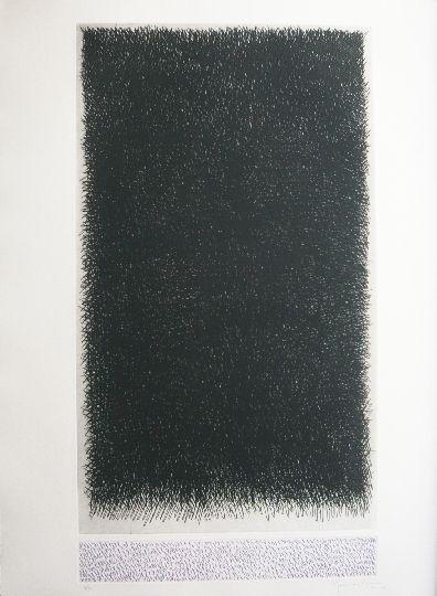 Gravure Hernandez Pijuan - Polychrome 18
