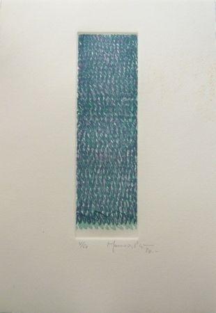 Gravure Hernandez Pijuan - Polychrome 8