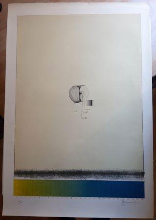 Lithographie Hernandez Pijuan - Poma