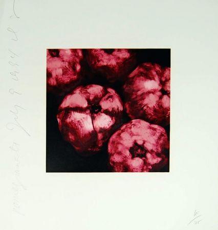 Sérigraphie Sultan - Pomegranates