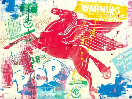 Sérigraphie Mr Brainwash - Pop Scene