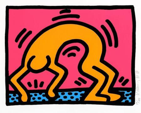 Sérigraphie Haring - Pop shop II 2