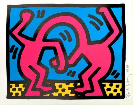 Sérigraphie Haring - Pop Shop II, D