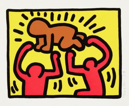 Sérigraphie Haring - Pop Shop IV (2)