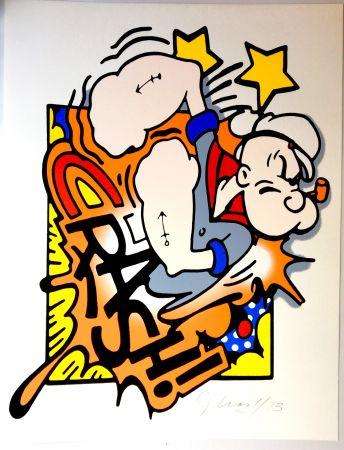 Sérigraphie Crash - Popeye