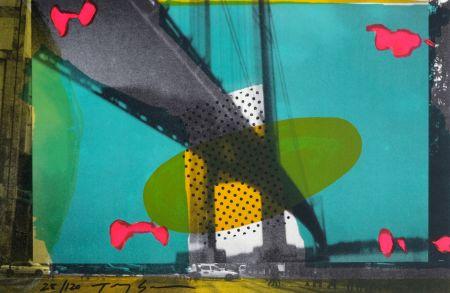Lithographie Soulie - Portail D'or