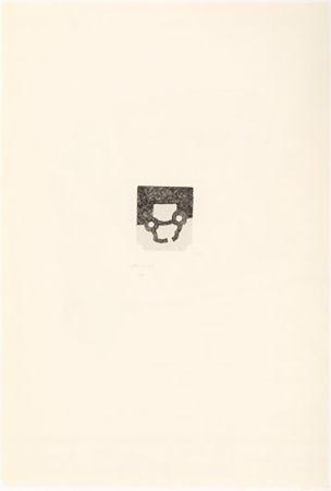 Gravure Chillida - Portfolio 12th Anniversary of Galeria Joan Prats