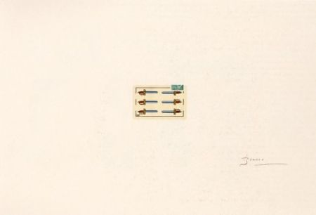 Lithographie Brossa - Portfolio 12th Anniversary of Galeria Joan Prats