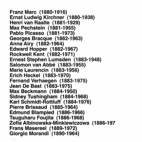 Multiple Aballí - Portfolio HISTORY OF PRINTMAKERS (287 NAMES)