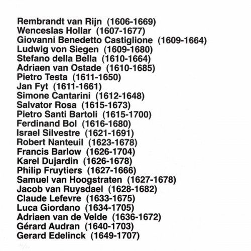 Monotype Aballí - Portfolio HISTORY OF PRINTMAKERS (287 NAMES)