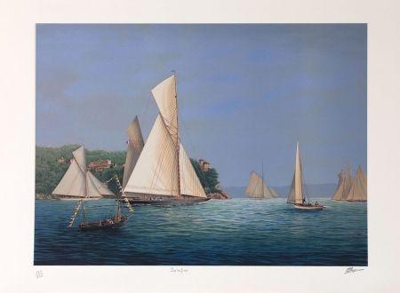 Lithographie Thompson - PORTOFINO