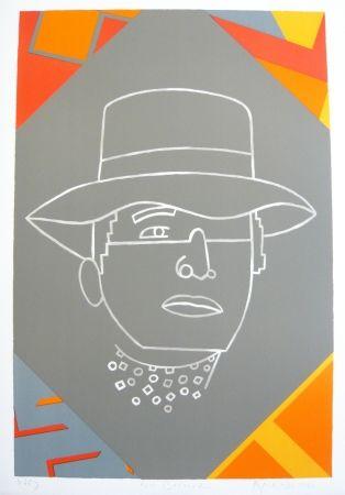 Lithographie Arroyo - Portrait