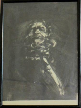 Lithographie Weisbuch - Portrait