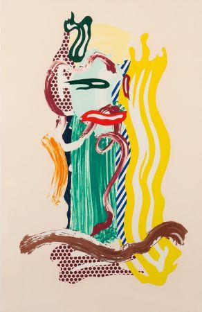 Lithographie Lichtenstein - Portrait