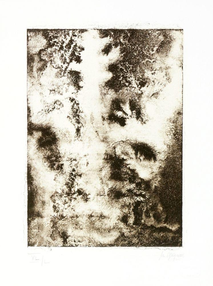 Lithographie Ferré - Portrait 1