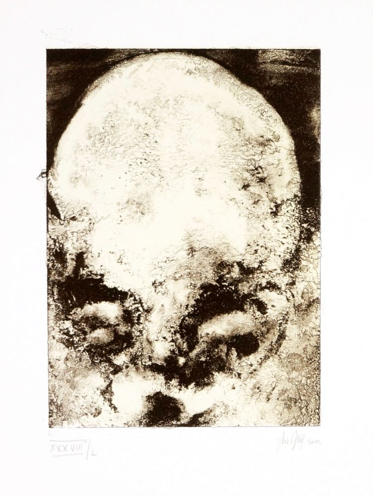 Lithographie Ferré - Portrait 2