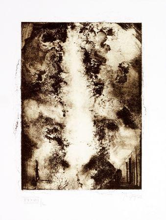 Lithographie Ferré - Portrait 3