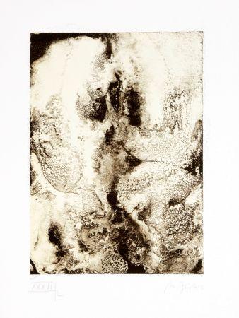 Lithographie Ferré - Portrait 5