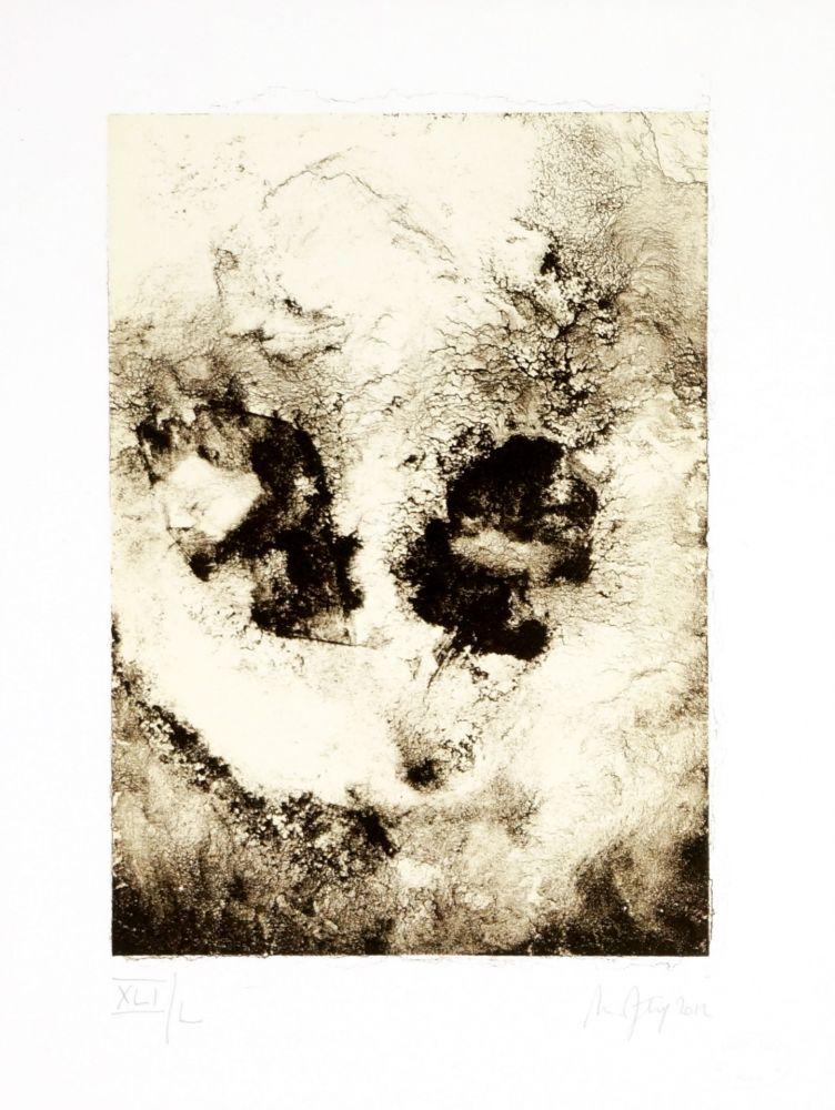 Lithographie Ferré - Portrait 6