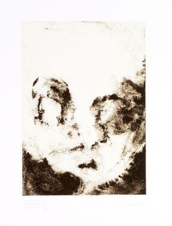 Lithographie Ferré - Portrait 8