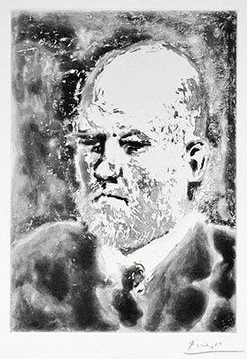 Eau-Forte Et Aquatinte Picasso - Portrait d'Ambroise Vollard III