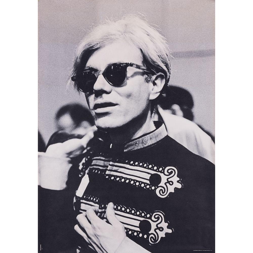 Affiche Warhol - Portrait d'Andy Warhol en costume d'officier