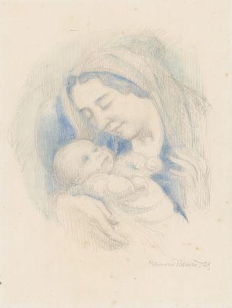 Aucune Technique Denis - Portrait d'Antoine Poncet dans les bras de sa mère Anne-Marie