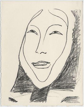 Lithographie Matisse - Portrait de femme esquimau n° 4. 1947 (Pour Une Fête en Cimmérie)