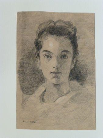 Aucune Technique Martin - Portrait de jeune fille