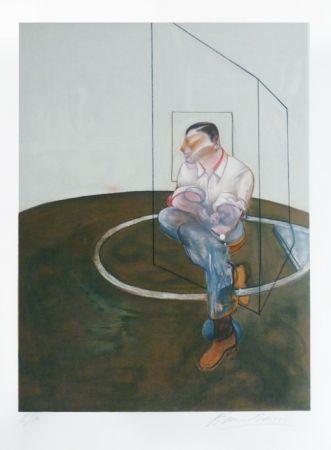 Lithographie Bacon - Portrait de John Edwards