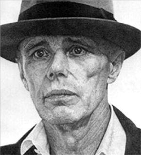 Lithographie Hucleux - Portrait de Joseph Beus