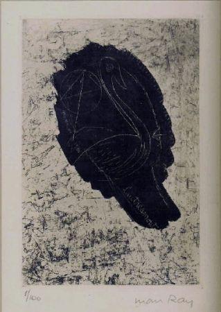 Eau-Forte Et Aquatinte Ray - Portrait de Lautreamont